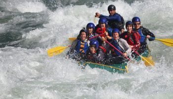 boating, extreme sport, inflatable boat